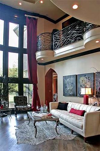 Contemporary Gothic Living Room