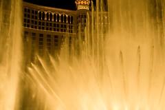 Fountain at Bellagio Hotel and Casino