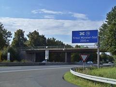 Autobahn Amelsbren Feuerstiege (Tiefbauamt) Tags: bridges autobahn a1 1000 mnster brcken dortmundemskanal amelsbren