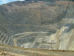 Kennecott Copper Mine (ribizlifozelek) Tags: utah ut mine copper kennecott openpit