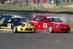 MG ZR Crash Sequence 4 (Harry_S) Tags: castle car corner d50 nikon crash racing mg wiltshire circuit quarry motorsport 80200 castlecombe zr combe ccrc mgraceday