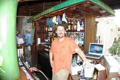 Cheap Bartender! (cwgoodroe) Tags: ocean sea summer sun hot bird beach st john island islands bay cool sand ruins surf stjohn heat trunk hawksnest usvi trunkbay
