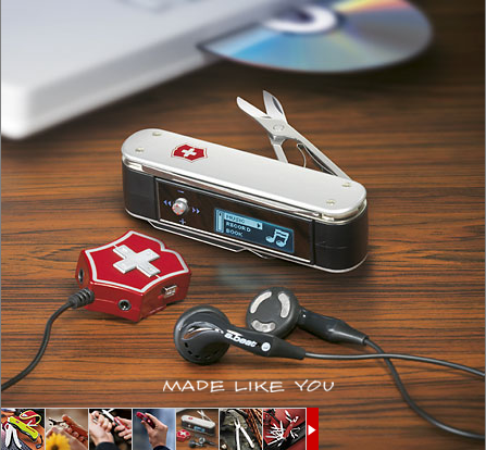 Victorinox mp3 player