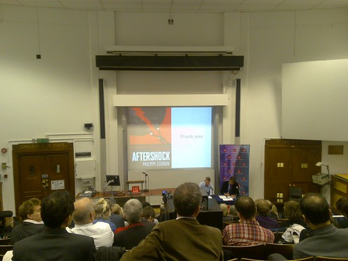 Aftershock book launch