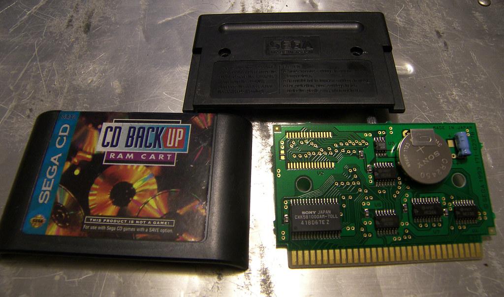 Sega CD internal memory and Back Up cart | NeoGAF