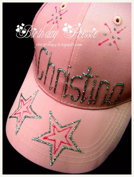 Birthday Pressie: Baby Pink Self DIY Hat