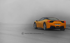 Ferrari 458 Italia | Custom Design (Tareq Abuhajjaj | Photography & Design) Tags: red italy white black yellow lights hp nikon italia power ferrari led saudi arabia rims 700 riyadh v8 ggg ksa 070 458 tareq       d700       tareqdesigncom tareqmoon tareqdesign