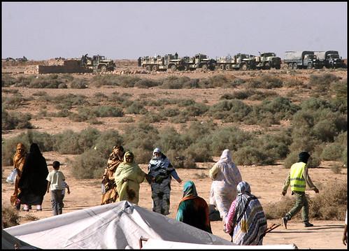 Actualité.Les sahraouis assiégés à El Alayoun