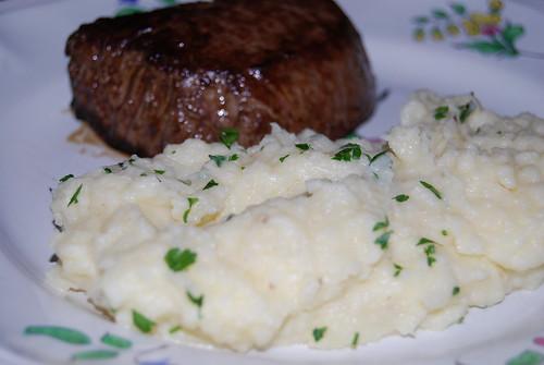 knolselderijpuree met aardappel á  la Bocuse 006