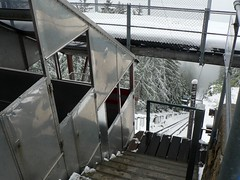 Steepest funicular in the world Parc d'Attractions du Châtelard VS SA (wimbledonian) Tags: snow train switzerland du parc barrage funicular emosson dattractions châtelard