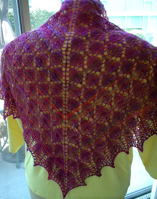 Forest Canopy Shoulder Shawl