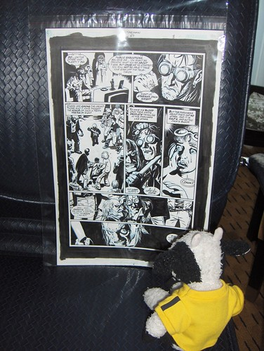 "I bought a piece of ""Starman"" original art by Peter Snejberg"
