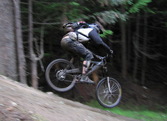Whistler Bike Park - Si in the Air