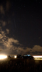 Me and the Russians watch for Perseids (Airchinapilot) Tags: road park canada cars stars airport bc richmond yvr meteor russians mazda3 ionabeach sigma1020mm meteorshower perseid perseids p1f1 august1207