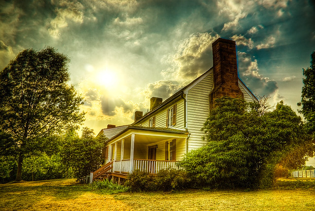 Dranesville Tavern high dynamic range HDR Photography inspiration and tutorial in Photoshop