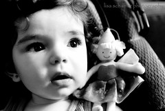 Day 292 (lisaschafferphoto) Tags: bw bigeyes fairy sweetie manual d200 lovely fairies sweetness 9monthsold nikond200 365days