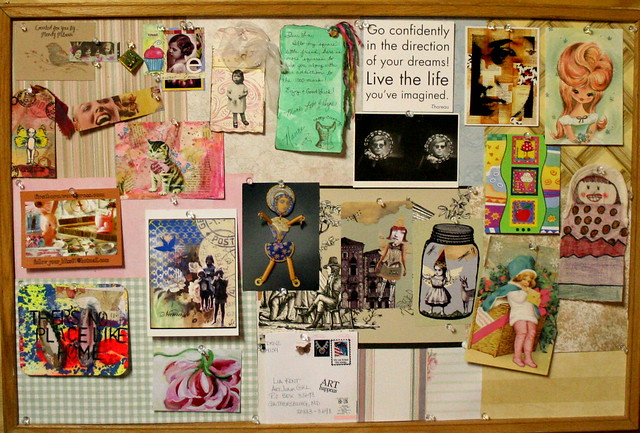 Using an inspiration board to fuel graphic design creativity