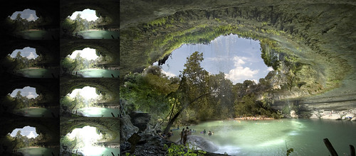 Hamilton Pool - Before and After