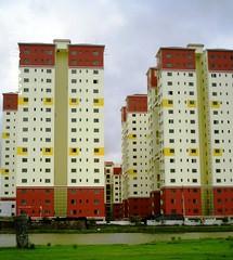 Greenfield Heights, Kolkata (seaview99) Tags: india building construction view apartment highrise newtown kolkata calcutta condominium westbengal rajarhat