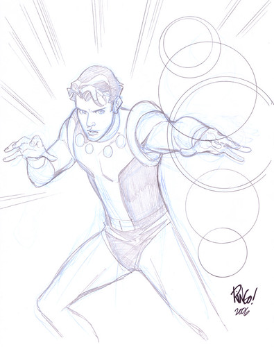 Cosmic Boy by Mike Wieringo