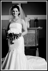 Bridal Formal (fensterbme) Tags: flowers wedding columbus blackandwhite bw 20d bride interestingness rachel women personal formal highcontrast l studiolighting weddingphotography 2470mm fensterbme canon2470mm interestingness467 i500 canonllens canon2470mmf28l strobist fenstermacherphotography vanfleetrousewedding explore30aug07