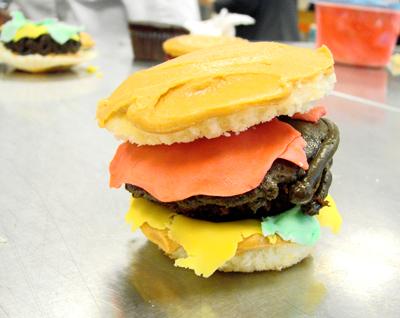 HamburgerCupcake