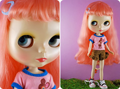 Hair, hair everywhere! (dr.plum) Tags: biscuit blythe dainty rbl dabi