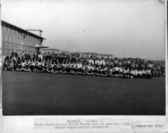 Image titled Youth organisations church parade 1954 with info