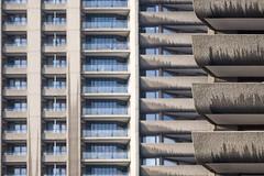 Concrete Windows (Homemade) Tags: windows london balcony barbican balconies cityoflondon shakespearetower londonist concretewindow nikkor135mmf28 nikon135mmf28 fwo13528 barbicanwindows