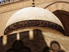 Wooden Dome - Masjid of Sultan Hassan     / Cairo / Egypt - 16 04 2010 (Ahmed Al.Badawy) Tags: architecture wooden shots 04 egypt cairo dome sultan hassan 16 ahmed masjid islamic 2010   mamluk   albadawy hutect