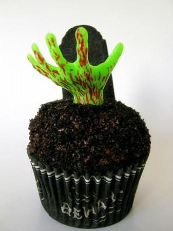 ZombieHandCupcakes