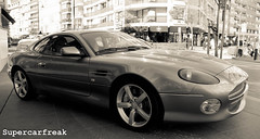 Aston Martin DB7 GT (SuperCarFreak) Tags: auto england car canon eos martin voiture exotic knokke 7d vehicle gt luxury coupe supercar luxe aston engeland sportscar wagen db7 sportwagen dreamcar ef1740 sportief supercarfreak