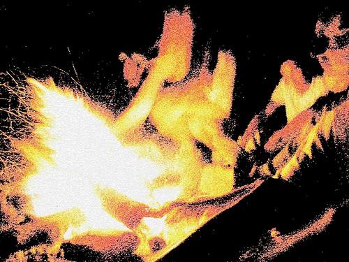 Autour du feu copie