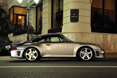 Ruf 993 Turbo R *Explored* (AxelVeraartPhotography) Tags: car composition square photography grey evening nikon nightshot automotive f1 casino montecarlo monaco turbo german f r porsche tuner deutsche ruf 993 turbor d90 hoteldeparis veraart axl axlveraart