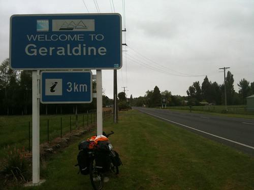 ジェラルディンの町にたどり着いた。