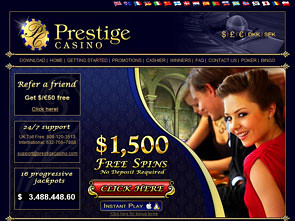 Prestige Casino Home