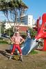 Dazzle Wrestlers Here (HardieBoys) Tags: ocean sea sculpture art mar arte sydney australia escultura nsw océano