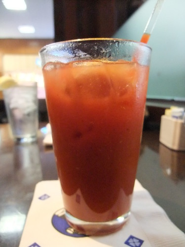 SFO Day 3: Bloody Mary at San Francisco Airport