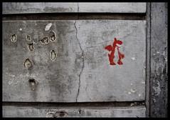 Drache (Coloured City Vienna) Tags: vienna wien streetart graffiti stencil dragon urbanart drache schablone siebensterngasse