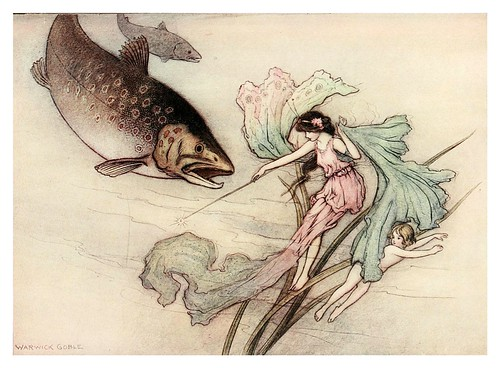 003-The water-babies a fairy tale for land-baby 1909-ilustrado por  Warwick Goble