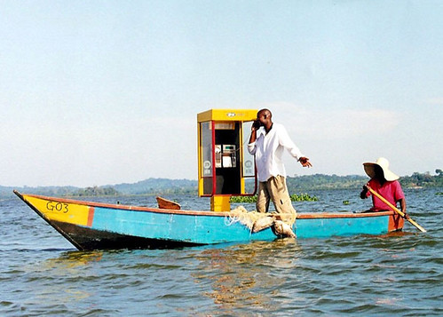 lake victoria solar payphone