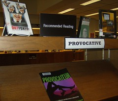 Recommended Reading: Provocative: 32/365 (highlinelibrary) Tags: public interior library washingtonstate academic highline 2007 hcc libslibs librariesandlibrarians 365libs ll100