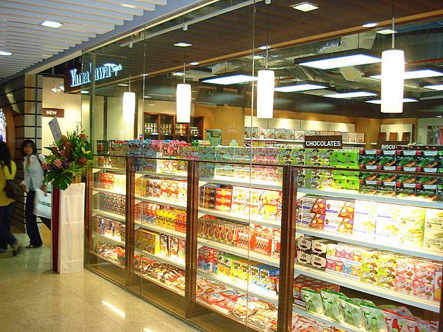 Yamakawa Supermarket in basement of Central Shopping Centre