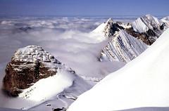 Above the clouds (ExeDave) Tags: mountain snow alps clouds 35mm geotagged schweiz switzerland suisse slide olympus scan explore alpine naturereserve nr om2 vaud jaman rochersdenaye dentdejaman prealps cograil interestingness500 reservenaturelle anawesomeshot stationdejaman vaudprealps lesveraux hautsdemontreaux geo:lat=46435727 geo:lon=6981125