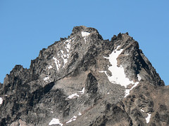 Close up shot of Mt. Stuart, as seen from the summit of Devils Head (Pt. 6666) 7.29.07.