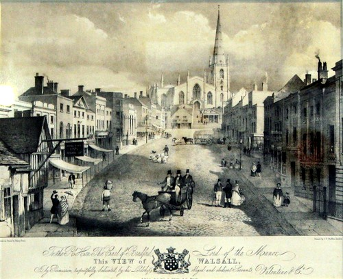 Walsall town from olden times