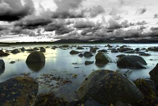 Criccieth Beach Wales