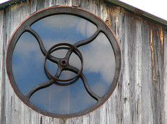 spinning wheel window - by jmtimages