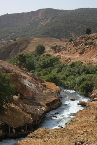نهر ام الربيع جنة  من جنات المغرب