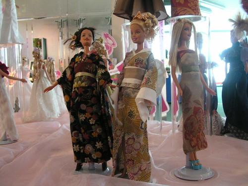 Kimono Barbies